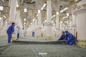 Read more about the article Microchipped Carpets Introduced in Masjid Al Nabawi