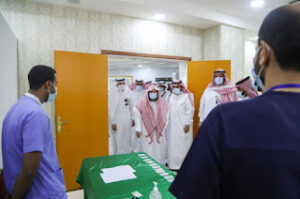 Read more about the article Sheikh Sudais inaugurates Vaccination Center for Haramain Sharifain's employees
