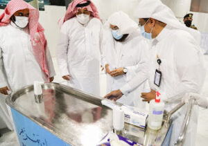 Read more about the article Sheikh Sudais inaugurates Special Zamzam carts to cater Ramadan Demand
