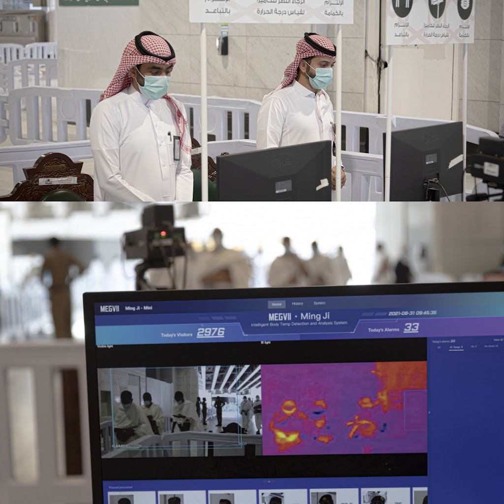 You are currently viewing Thermal Cameras Introduced among other to Preserve the Health of Pilgrims